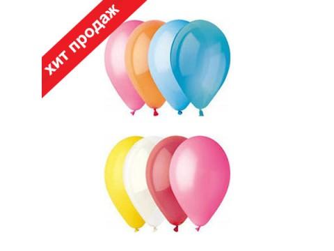 """Воздушные шары Пастель 5"""" ассорти, поштучно"""