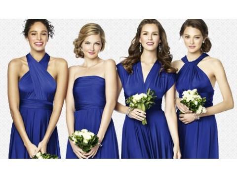 Платье-трансформер для подружек невесты на заказ
