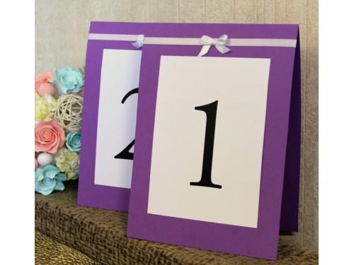 Номера столов для рассадки гостей ручной работы