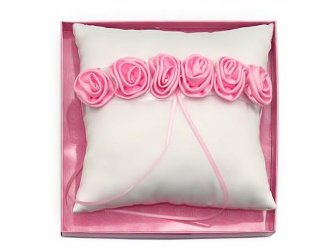 "Подушечка для колец ""Розовая роза"""