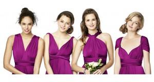 Платье трансформер: варианты завязывания